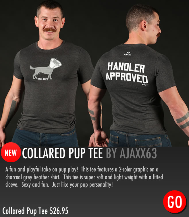 Collared Pup T-Shirt Puppy Play